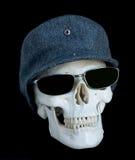 4 czaszki Fotografia Royalty Free