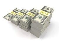 4 de Investering van het jaar Royalty-vrije Stock Afbeelding