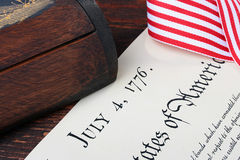 4 de julio Imágenes de archivo libres de regalías