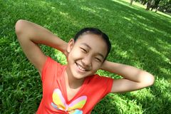 4 de l'adolescence asiatiques Photos stock