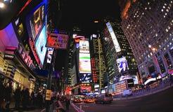 4 de noviembre de 2008 - el Times Square en NYC Imagenes de archivo