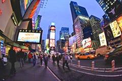 4 de noviembre de 2008 - el Times Square en NYC Imagen de archivo