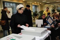 4 december moscow Royaltyfri Fotografi