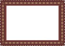 4.Decorative kader. royalty-vrije illustratie