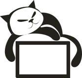 4 deskowy kot Zdjęcia Stock