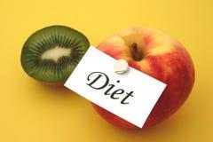 4 dieta zdjęcie stock