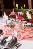 4 dinning eleganti Immagine Stock