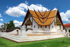 4 directions church in Thai style royalty free stock image