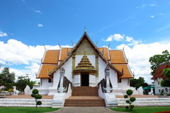 4 directions church at Wat Phoo-min,Nan,Thailand Royalty Free Stock Photo