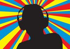 4 disco dj Στοκ Εικόνες