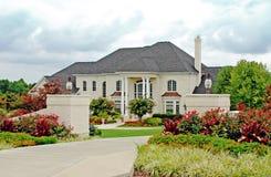 4 domów luksus Zdjęcia Royalty Free