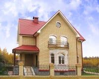 4 dom Zdjęcia Stock