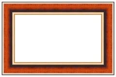 4 drewniany ramowy obrazek Fotografia Royalty Free