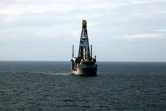 4 drill ship Στοκ Εικόνες