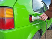 4 energii zieleń Zdjęcia Stock