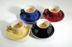 4 espresso Stock Photos