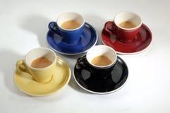 4 espresso Stock Photos