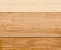 4 estágios da pintura de madeira Foto de Stock Royalty Free