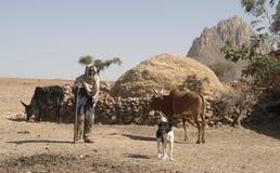 4 ethiopian folk Royaltyfri Foto