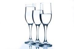 4 exponeringsglas thee Arkivbild