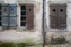 4 fönster Arkivbilder