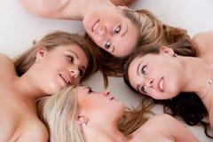 4 faces naturais Imagens de Stock