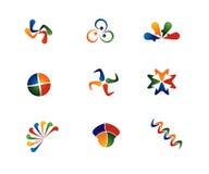 4 Farben-Auszüge vektor abbildung