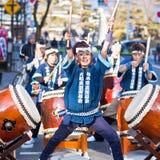 4 festiwal Japan Matsumoto Fotografia Royalty Free