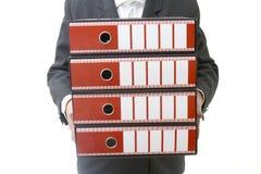 4 fichiers d'affaires Photos libres de droits
