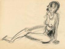 4 figure gymnastik Arkivbilder