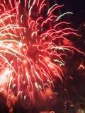 4 fireworks Στοκ Εικόνες