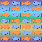 4 fishey 免版税图库摄影