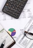 4 funduszy emerytury obraz stock