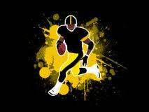 4 futbol amerykański Fotografia Stock