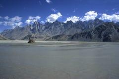 4 góry Pakistan Zdjęcia Royalty Free