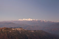 4 góry Sikkim Zdjęcie Royalty Free