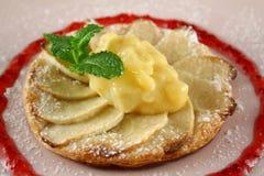 4 galettes яблока Стоковые Изображения RF