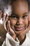 4 gammala år för gullig flicka Royaltyfri Foto