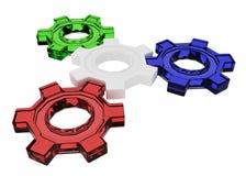 4 Gears Stock Image