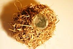 4 globe kryształów Obrazy Stock
