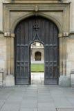 4 gotiska dörrar Royaltyfri Bild