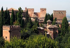 4 Granada Obrazy Royalty Free