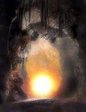 4 grottor Royaltyfri Bild