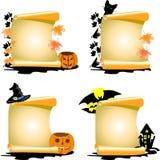 4 Halloween ilustracji