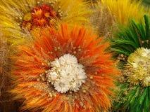 4 handgjorda blommor Royaltyfria Bilder