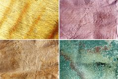 4 High Res Abstract Backgrounds Royalty Free Stock Photography
