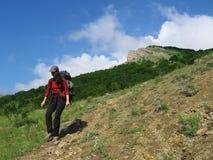 4 hiking Стоковое Изображение
