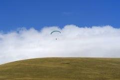 4 hoppa fallskärm Royaltyfri Fotografi