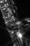 4 ingen saxofon Arkivbild