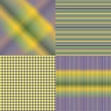 4 insiemi colorati dei reticoli Fotografia Stock Libera da Diritti